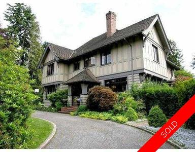 Shaughnessy House for sale:  5 bedroom 5,757 sq.ft. (Listed 2005-06-24)