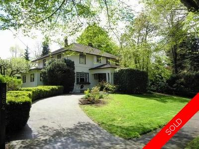 First Shaughnessy House for sale:  5 bedroom 4,681 sq.ft. (Listed 2007-05-03)