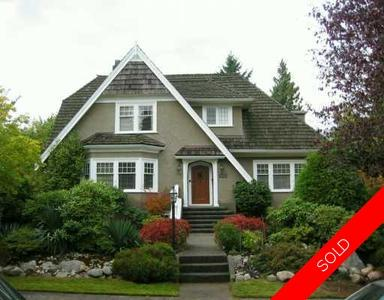 Shaughnessy House for sale:  6 bedroom 3 sq.ft. (Listed 2005-09-20)