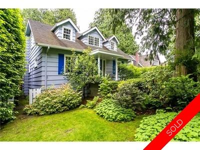 Kerrisdale House for sale:  5 bedroom 3,215 sq.ft. (Listed 2014-06-22)
