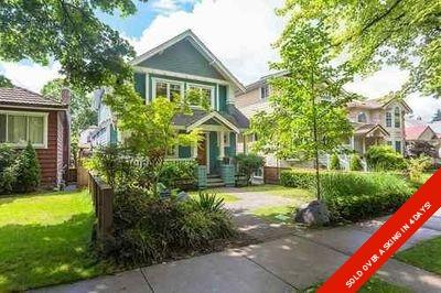 Vancouver West House/Single Family for sale:  4 bedroom 2,583 sq.ft. (Listed 2020-06-08)